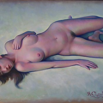 Nude in Cold Color 1